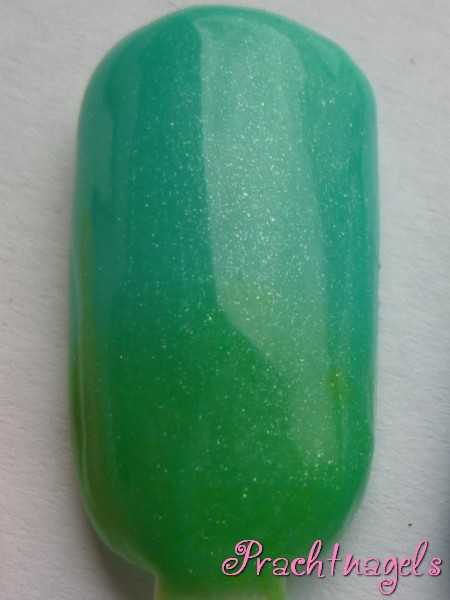 Metallic Thermo UV Gel - Licht groen naar Turquoise - 5ml