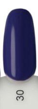 "Color UV Gel - ""Flower Violet"" - Donker blauw/ paars - 5ml"