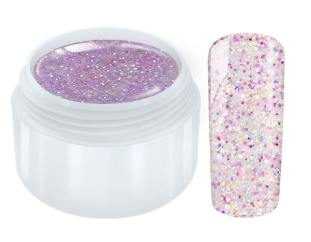Unicorn Glitter UV Gel - Light purple - 5ml
