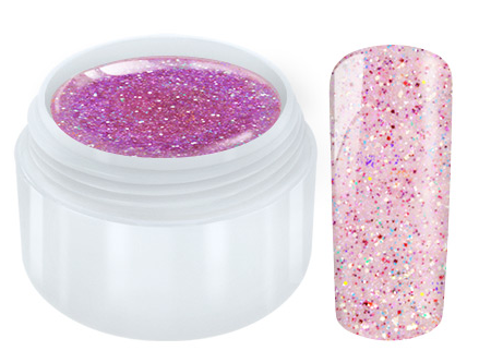 Unicorn Glitter UV Gel - Pink - 5ml