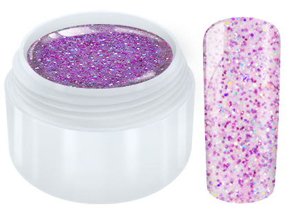 Unicorn Glitter UV Gel - Purple - 5ml