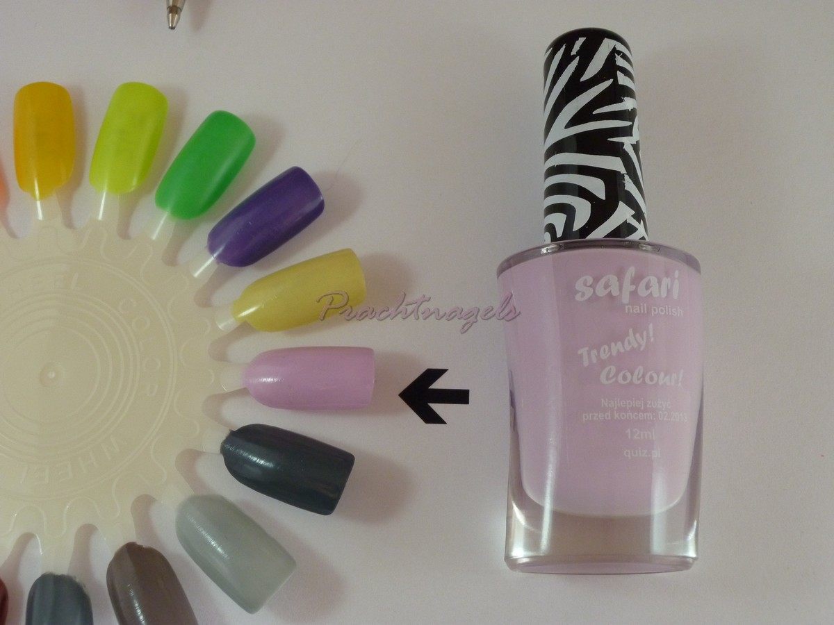 Nagellak Safari - 12ml - Nr. 338 - Pastel Lila