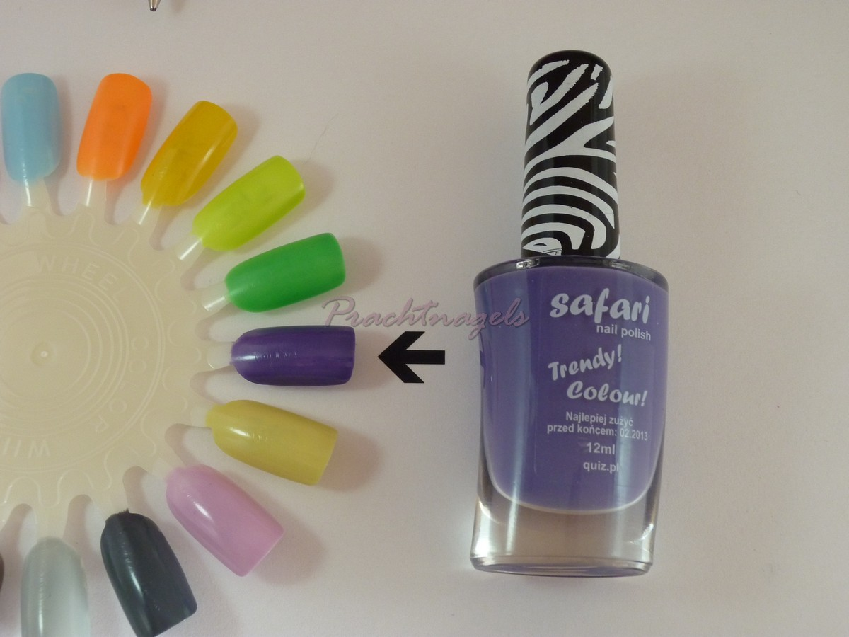 Nagellak Safari - 12ml - Nr. 342 - Paars