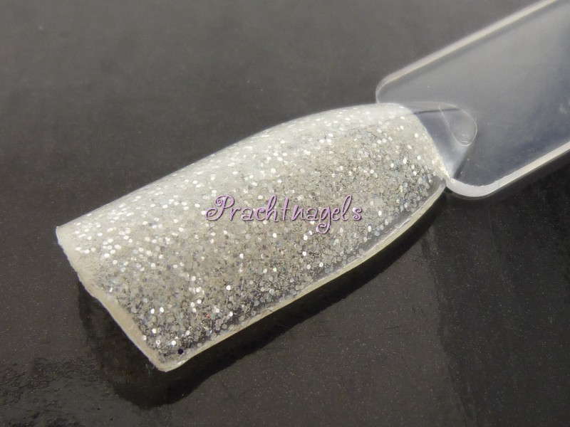 Shimmer Glitter UV Gel - Zilver wit- 5ml