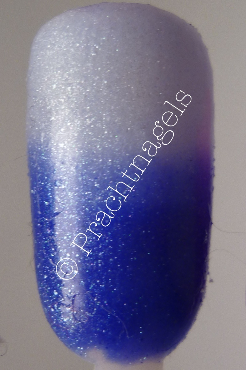 Metallic Thermo UV Gel - Royal blauw naar Transparant - 5ml
