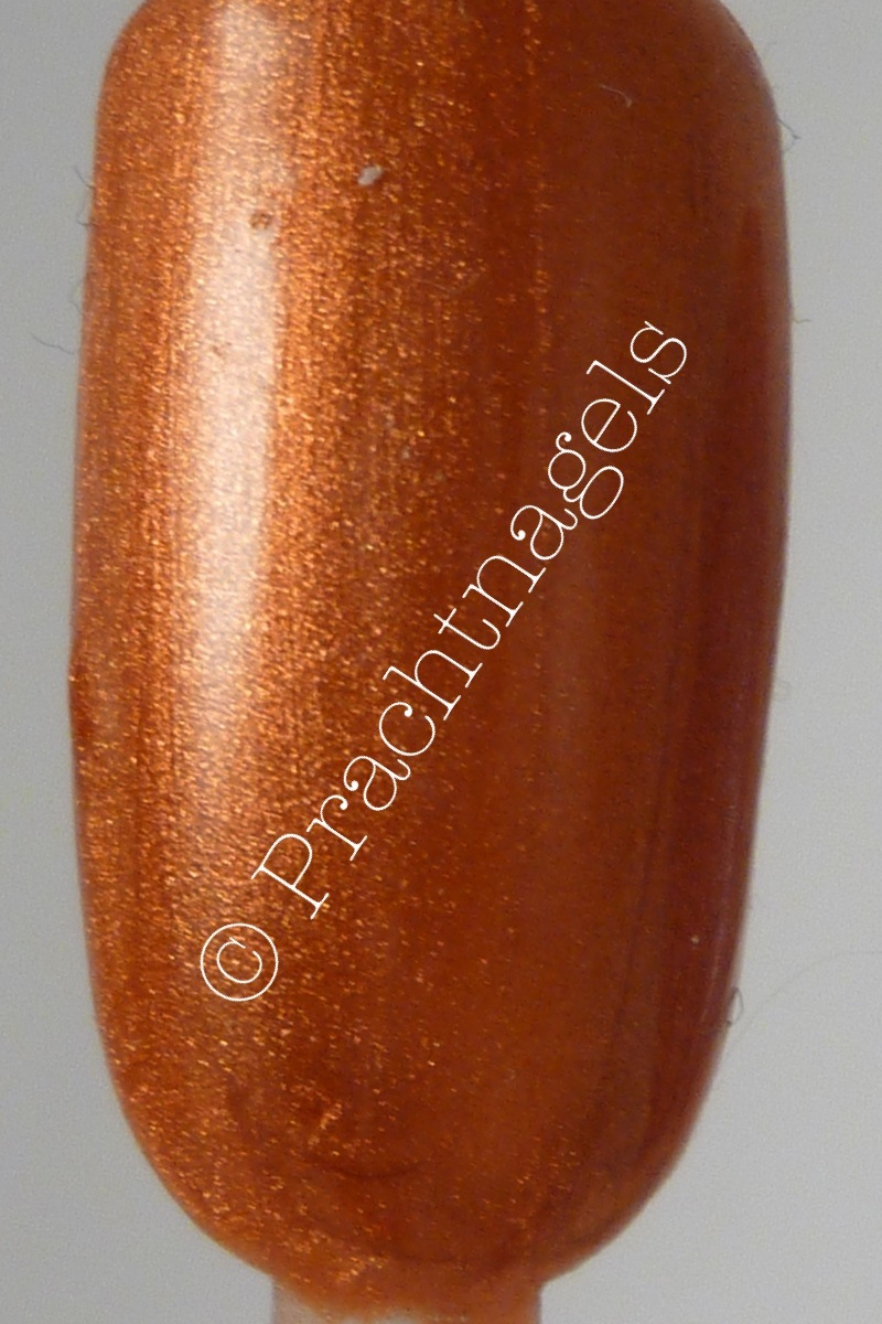 Metallic UV Gel - Oranje koper - 5ml - OP=OP!