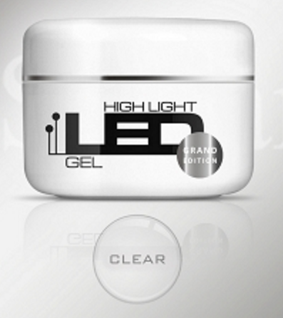 High Light LED GEL - One Component - CLEAR- 100gr