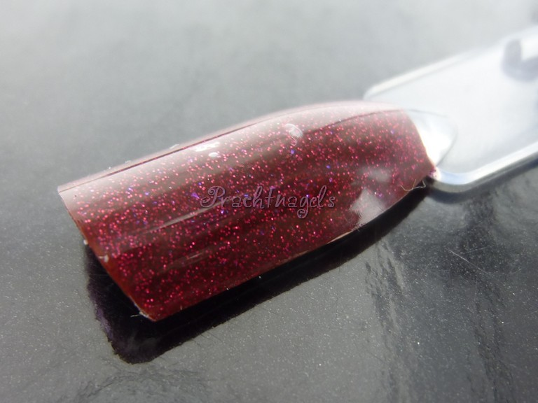 "Shimmer Glitter UV Gel - Diep Rood ""Scarlet"" - 5ml LED"