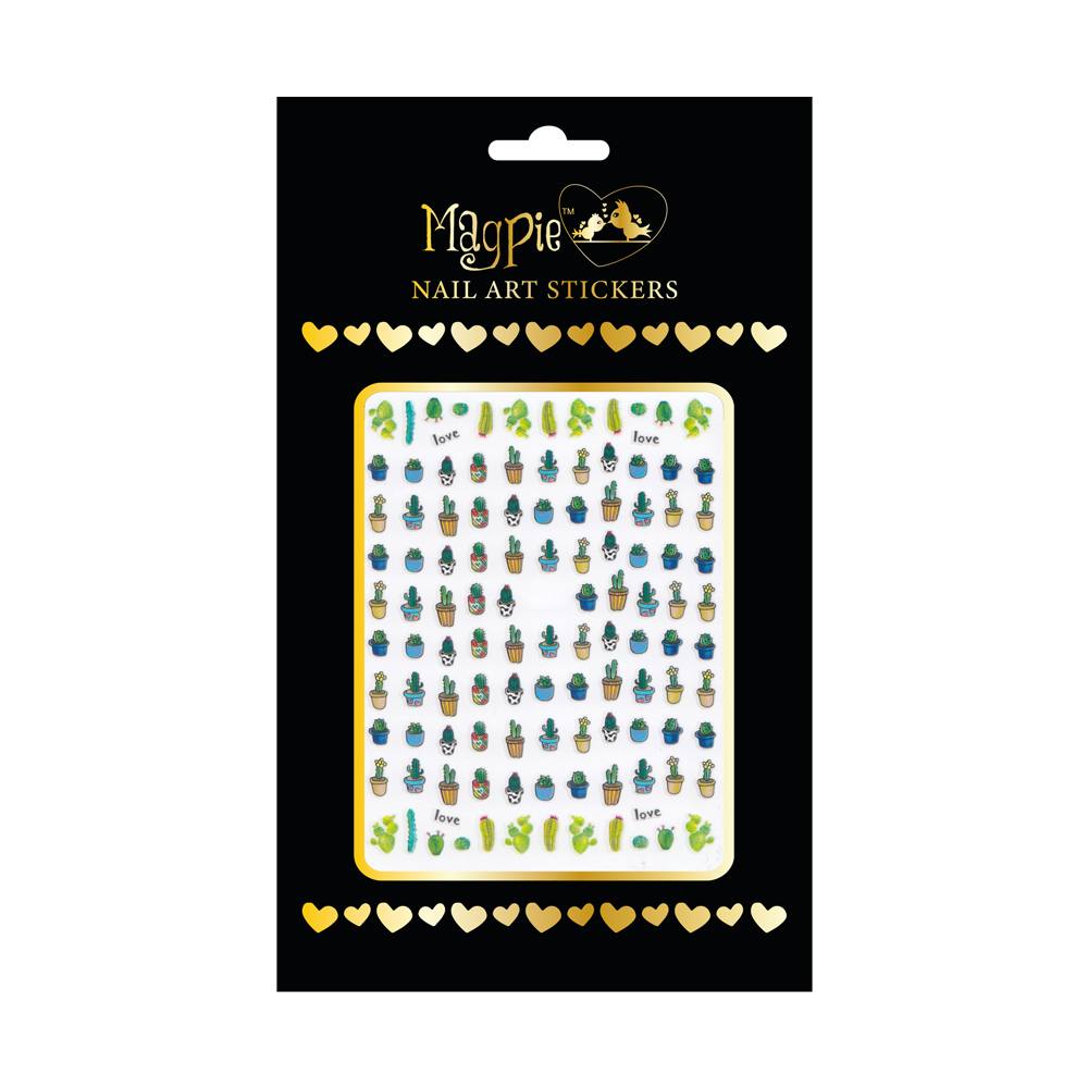 Magpie - Nail-art Sticker - #065
