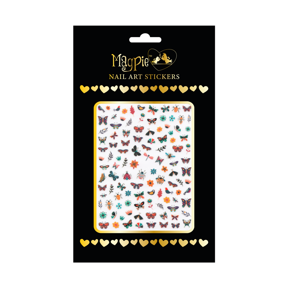 Magpie - Nail-art Sticker - #072 (Vlinders)