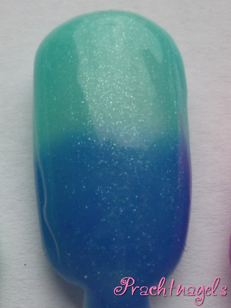 Metallic Thermo UV Gel - Blauw naar Turquoise - 5ml