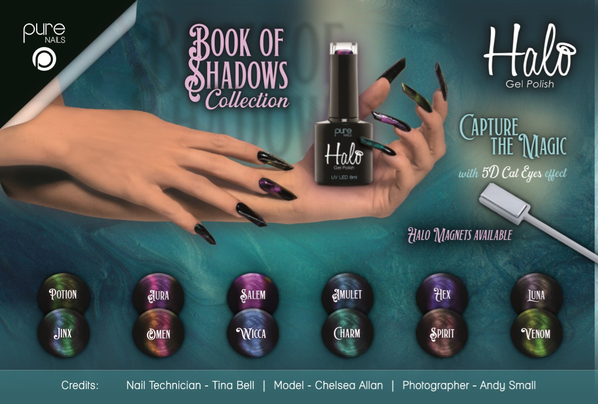 Pure Nails - Halo - Gel Polish - Book Of Shadows - Collectie