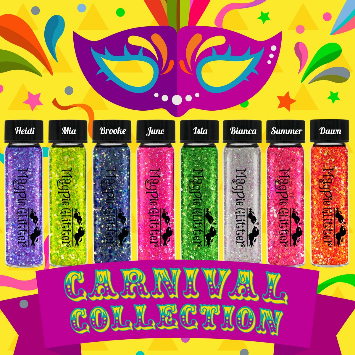 Magpie - Chunky Glitter - CARNIVAL COLLECTION