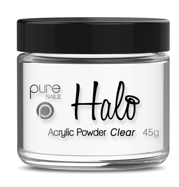 Pure Nails - Halo - Acrylpoeder - Clear - 45gr