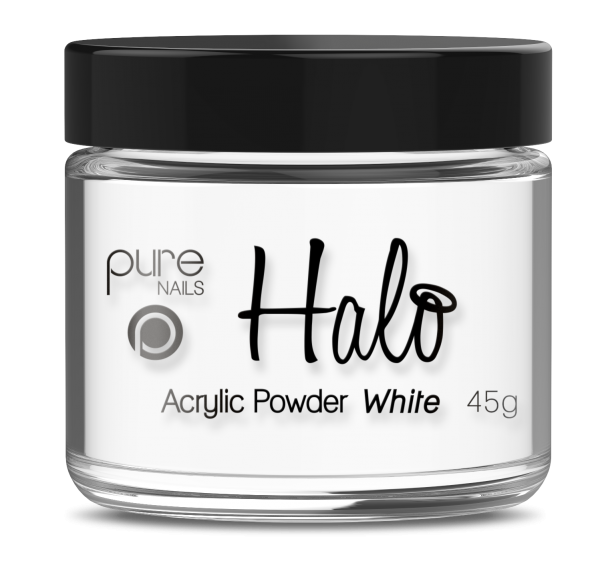 Pure Nails - Halo - Acrylpoeder - White - 45gr