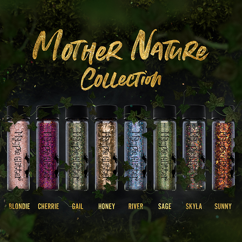 Magpie - Glitter - MOTHER OF NATURE - Collection