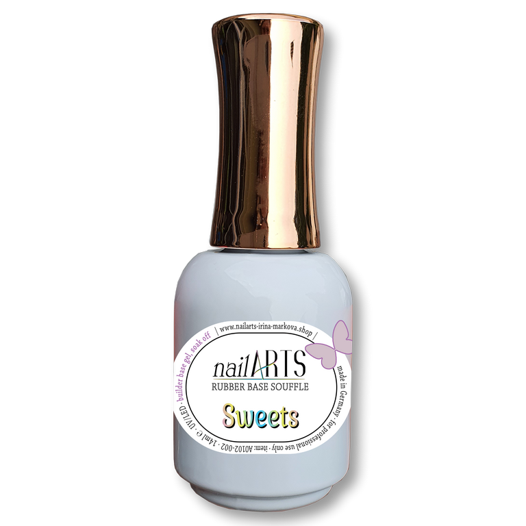NailARTS - Rubber Base Souffle (RBS) - SWEETS - 14ml
