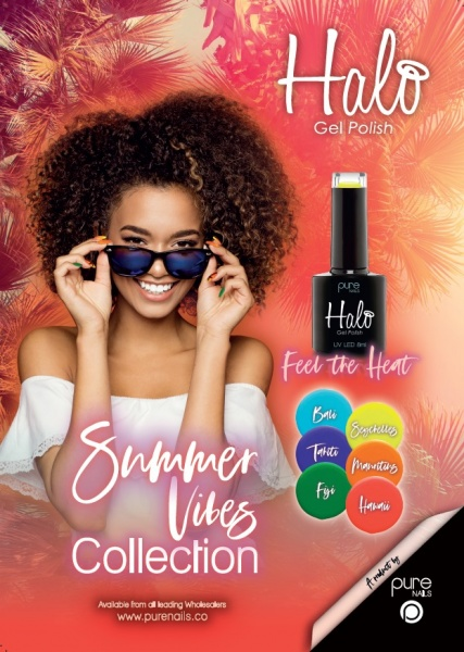 Pure Nails - Halo - Gel Polish - SUMMER VIBES - Collectie