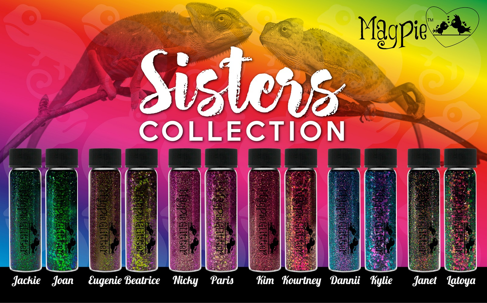 Magpie - Glitter - SISTER COLLECTION