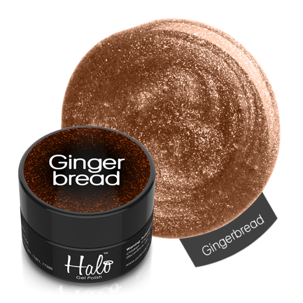 Pure Nails - Halo - Platinum Gel Polish - #2603 - GINGERBREAD