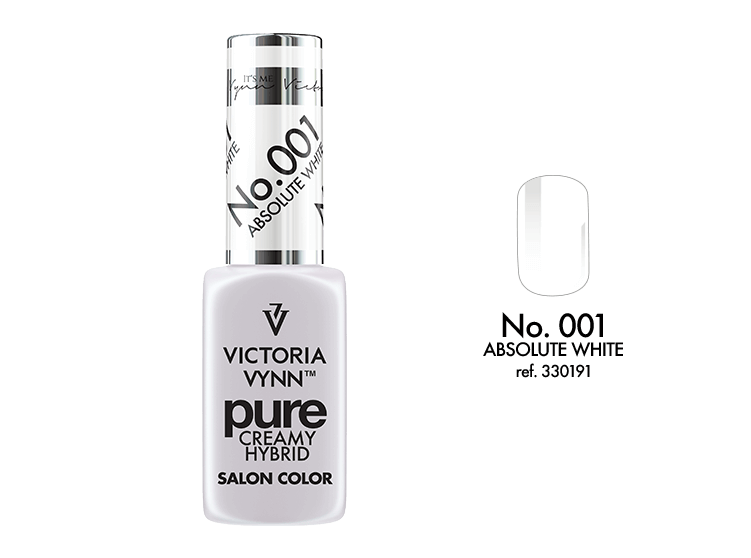 Victoria Vynn - Pure Gel Polish - #001 - Absolute white