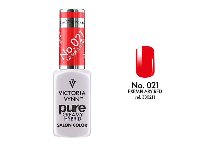 Victoria Vynn - Pure Gel Polish - #021 - Exemplary Red
