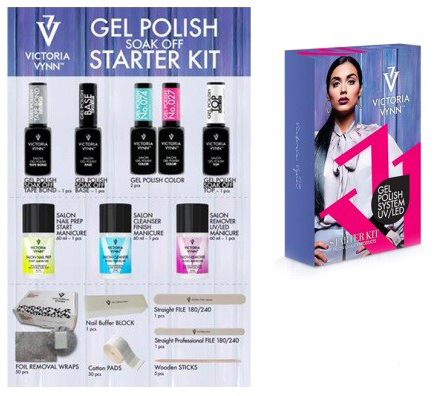 Victoria Vynn - Gel Polish Start Kit Soak Off System