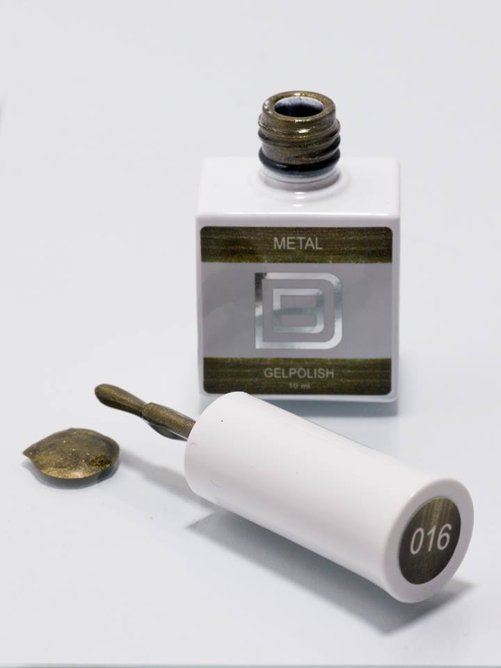 By Djess - Gel Polish - #016 - Metal - 10ml