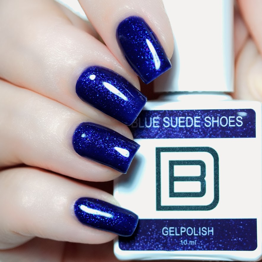 By Djess - Gel Polish - #014 - Blue Suede Shoes - 10ml
