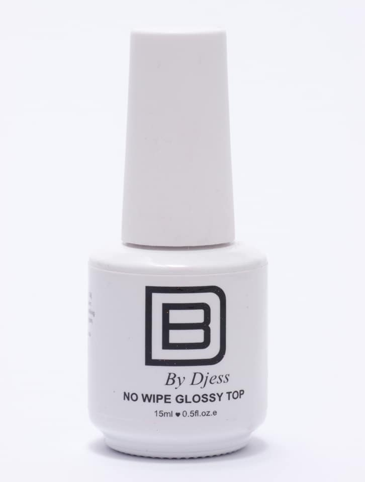 By Djess - NO WIPE Glossy Top - 15ml