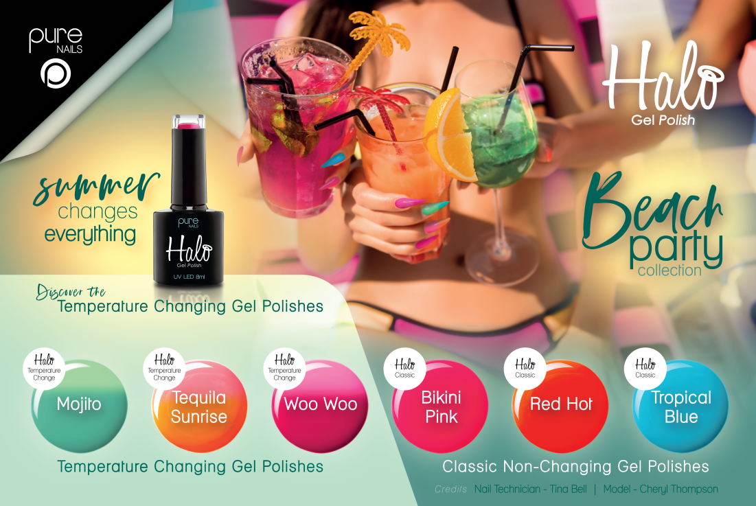 Pure Nails - Halo - Gel Polish - BEACH PARTY - Collectie