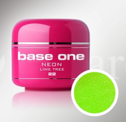Shimmer Neon Color UV Gel - #22 - Lime Tree - 5ml
