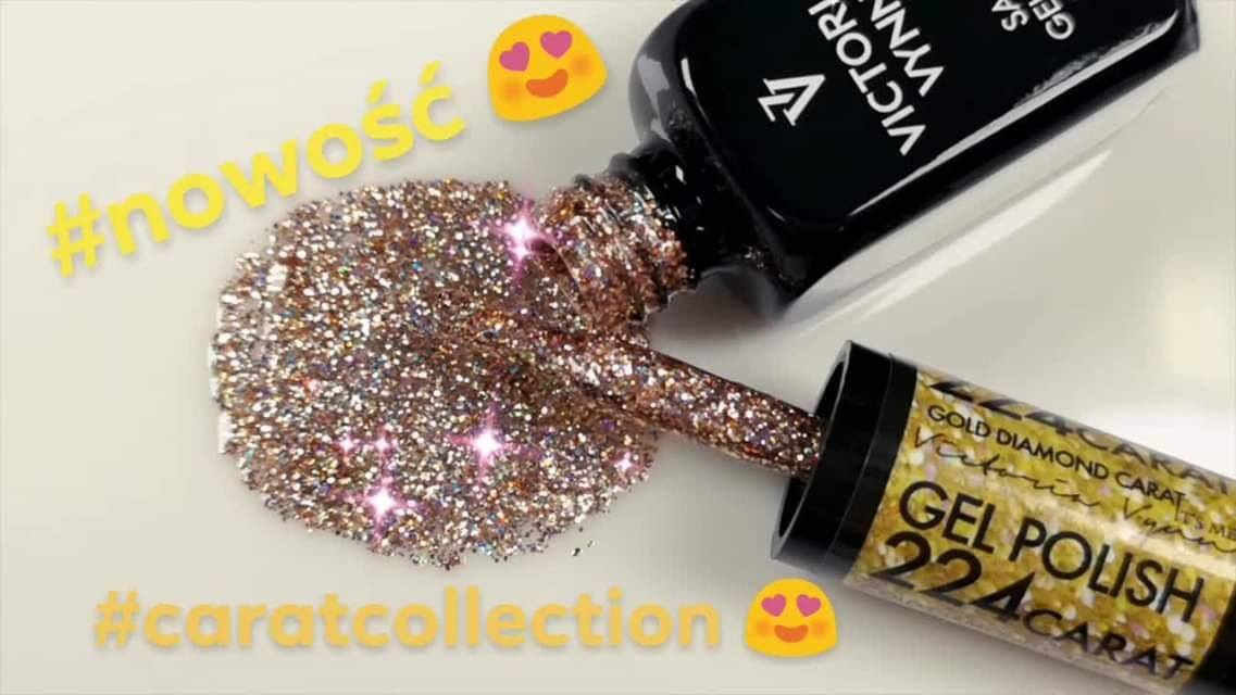 Victoria Vynn - Salon Gel Polish - #224 - CARAT - Gold Diamond