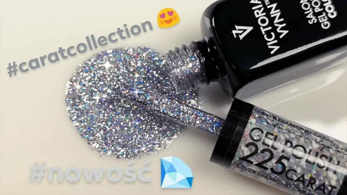 Victoria Vynn - Salon Gel Polish - #225 - CARAT - Silver Diamond