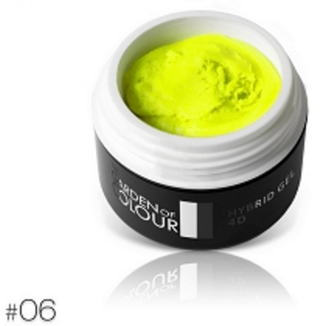 The Garden of Colour - 4D Color Gel - #06 - Neon Yellow