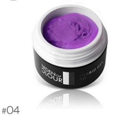 The Garden of Colour - 4D Color Gel - #04 - Purple