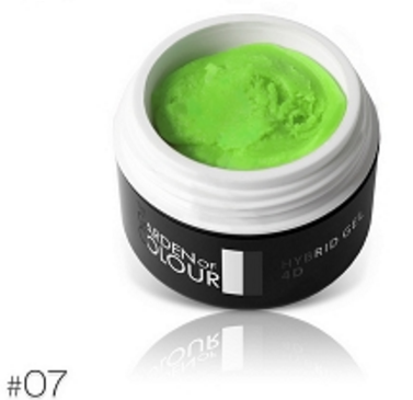 The Garden of Colour - 4D Color Gel - #07 - Neon Green