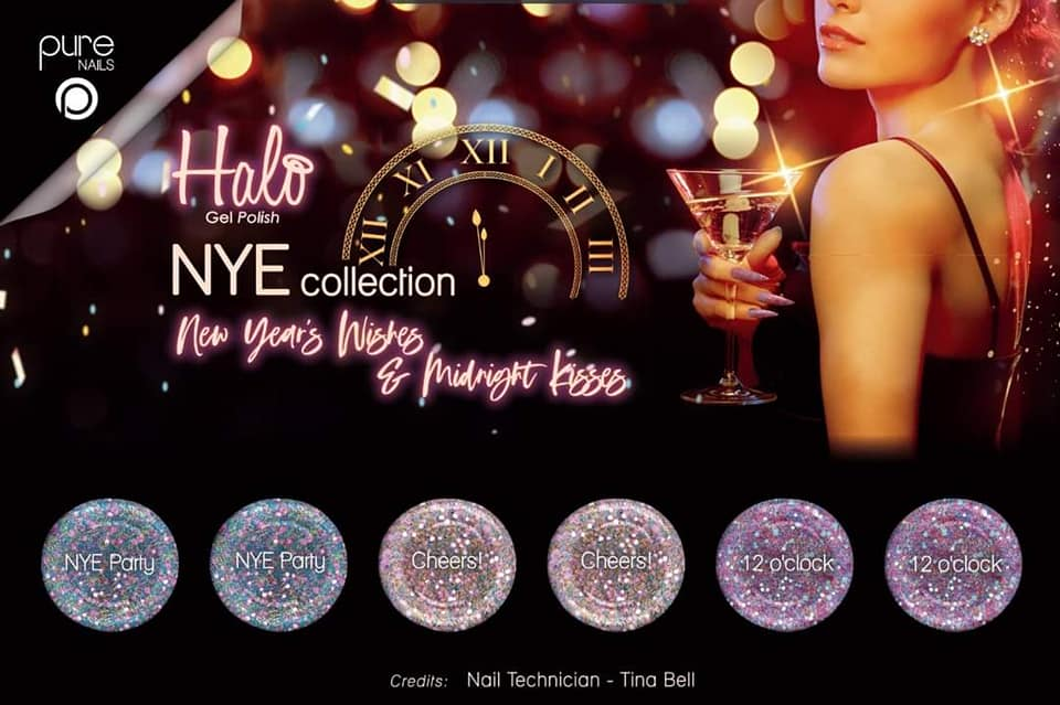 Pure Nails - Halo - Gel Polish - NYE - Collectie