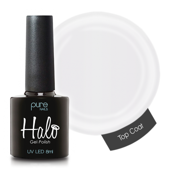 Pure Nails - Halo - No Wipe Top Coat - 8ml
