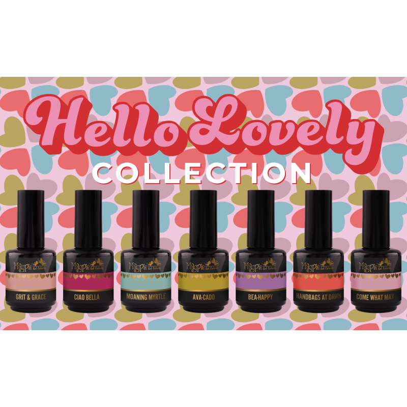 Magpie - Gel Polish - HELLO LOVELY - Collection