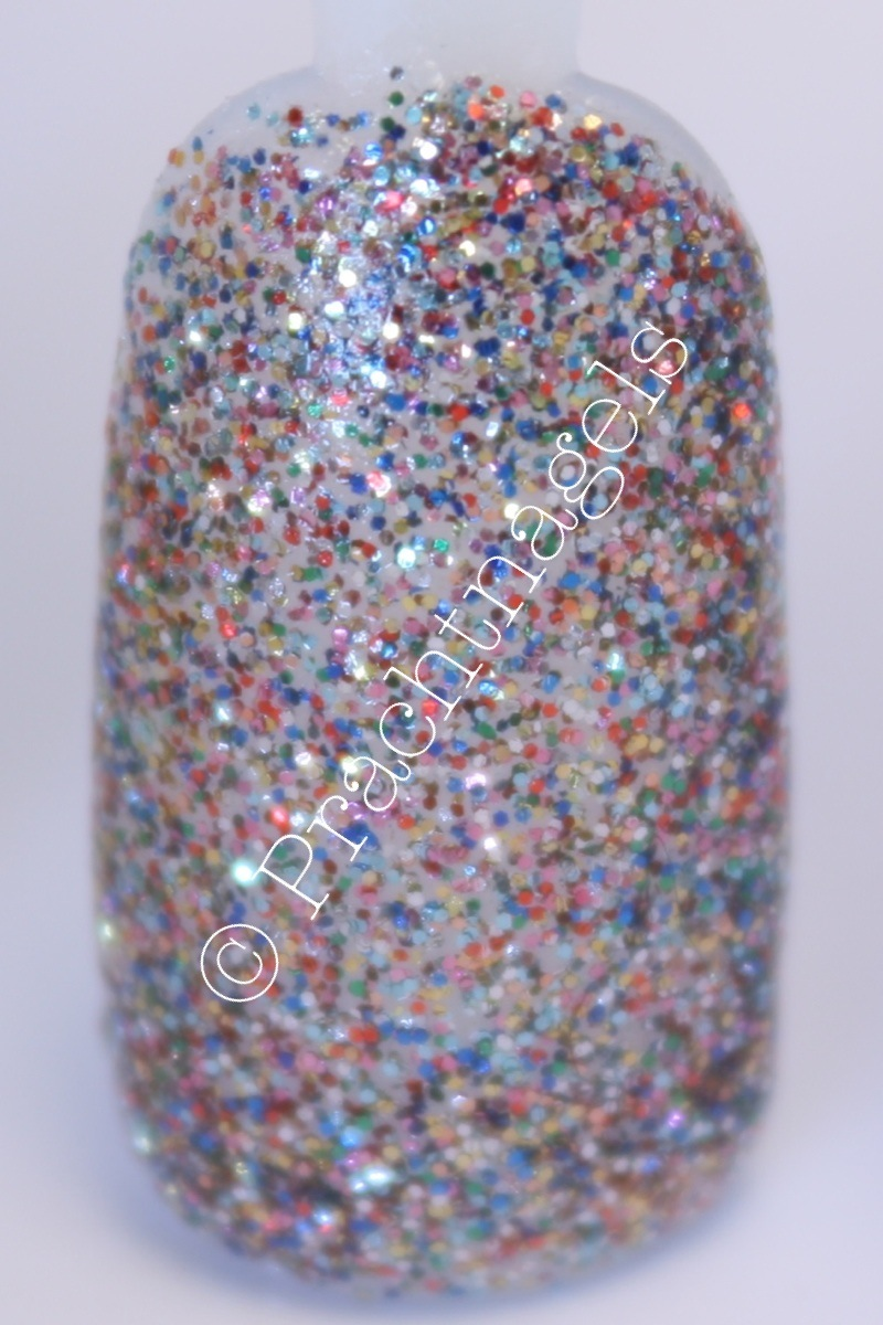Glitter Acryl poeder - Multicolor Disco - 5ml