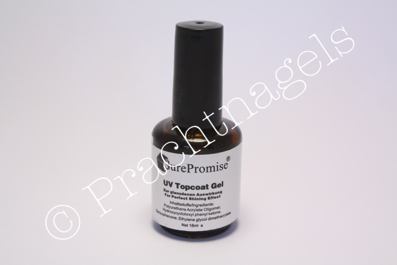 UV gel Top Coat - Surepromise - Medium/ dik viskoos15ml - OP=OP!