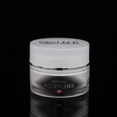 INK London - Acryl Powder - MONTREAL - White - 40gr