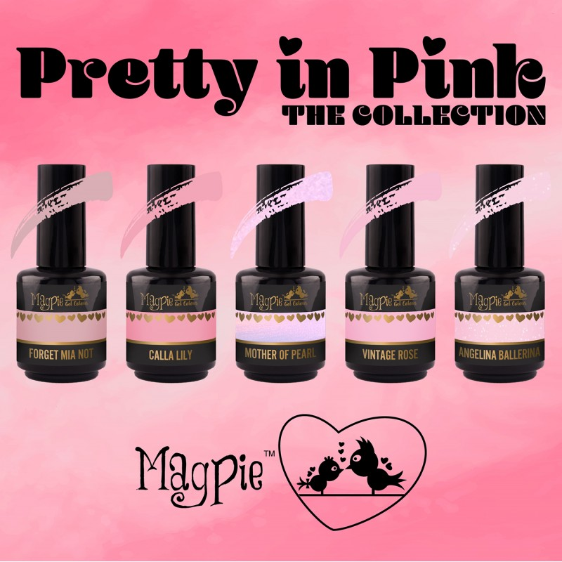 Magpie - Gel Polish - PRETTY IN PINK - Collection