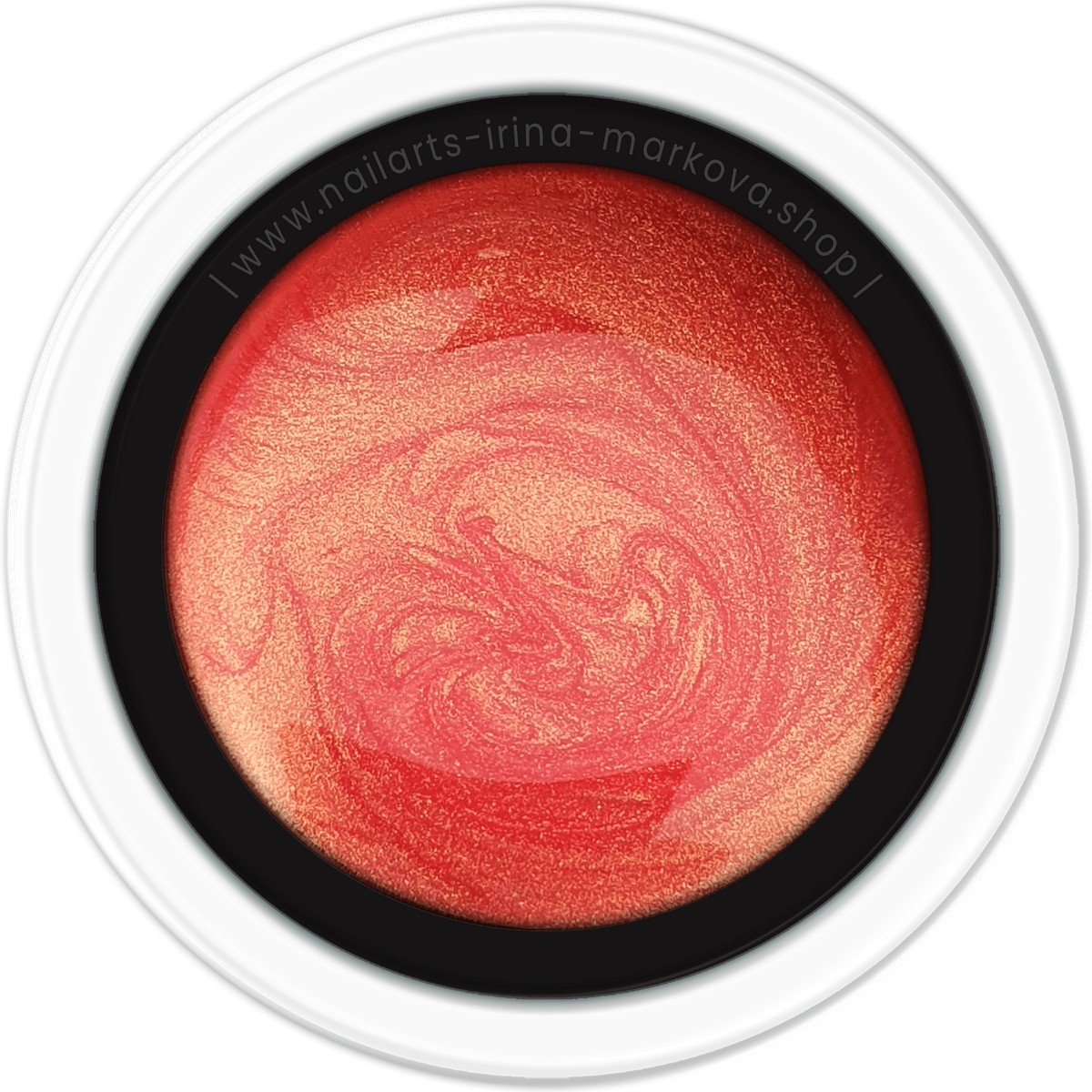NailArts - Effects (EFF) - GOLDIE CORAL - 5ml