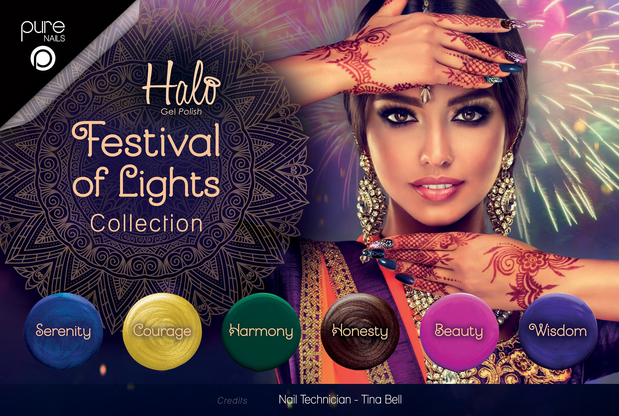 Pure Nails - Halo - Gel Polish - FESTIVAL OF LIGHTS - Collectie