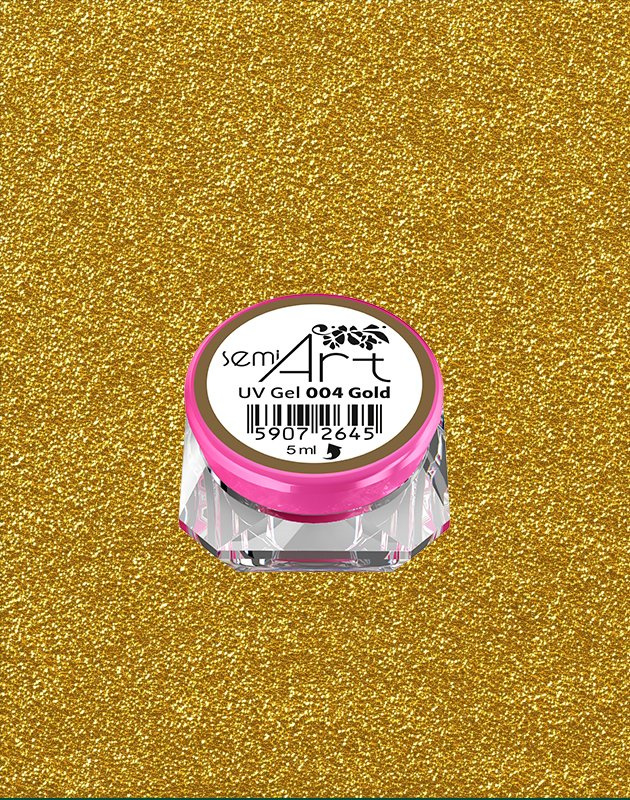 Semilac - Art Gel - 004 - Gold
