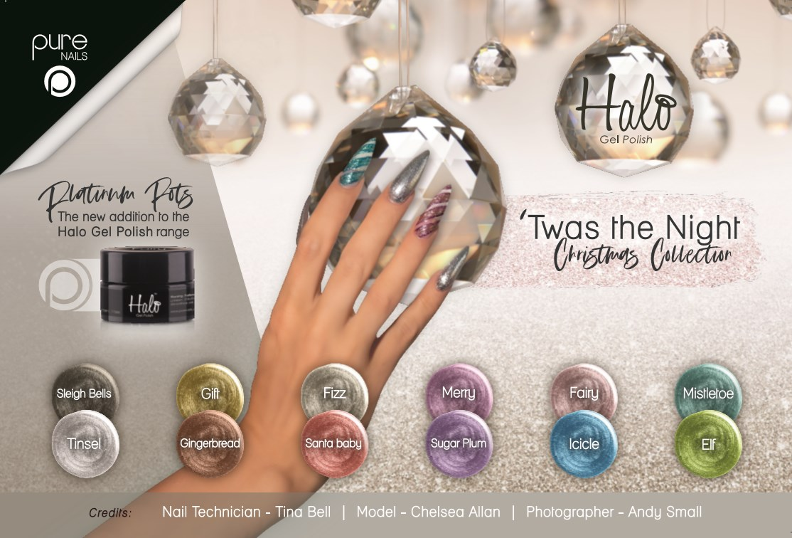 Pure Nails - Halo - Gel Polish - TWAS THE NIGHT - Collectie
