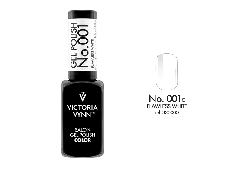 Victoria Vynn - Salon Gel Polish - #001 - Flawless White