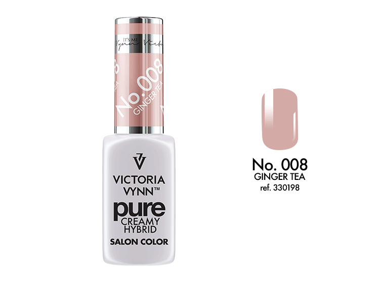 Victoria Vynn - Pure Gel Polish - #008 - Ginger Tea
